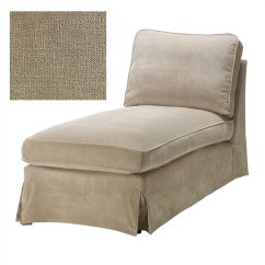 Chaise Sofa Cover How To Reupholster A Leather Corner Ikea Ektorp Longue Slipcover Vellinge Beige
