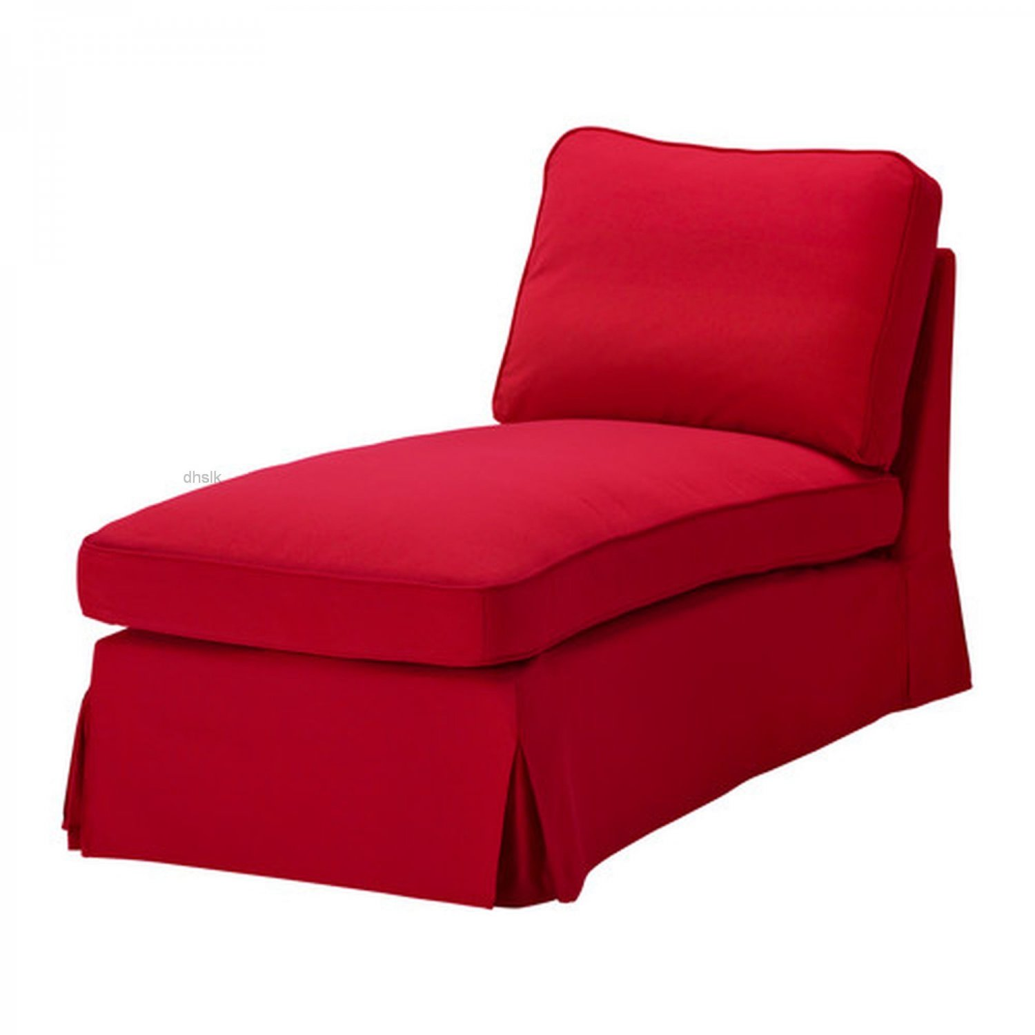 lounge chair covers australia herman miller office ikea ektorp free standing chaise cover slipcover idemo red