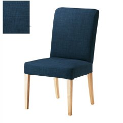 Ikea Tullsta Chair Covers Uk Cheap Wedding Canada Henriksdal Skiftebo Slipcover Cover 21 Quot 54cm Blue