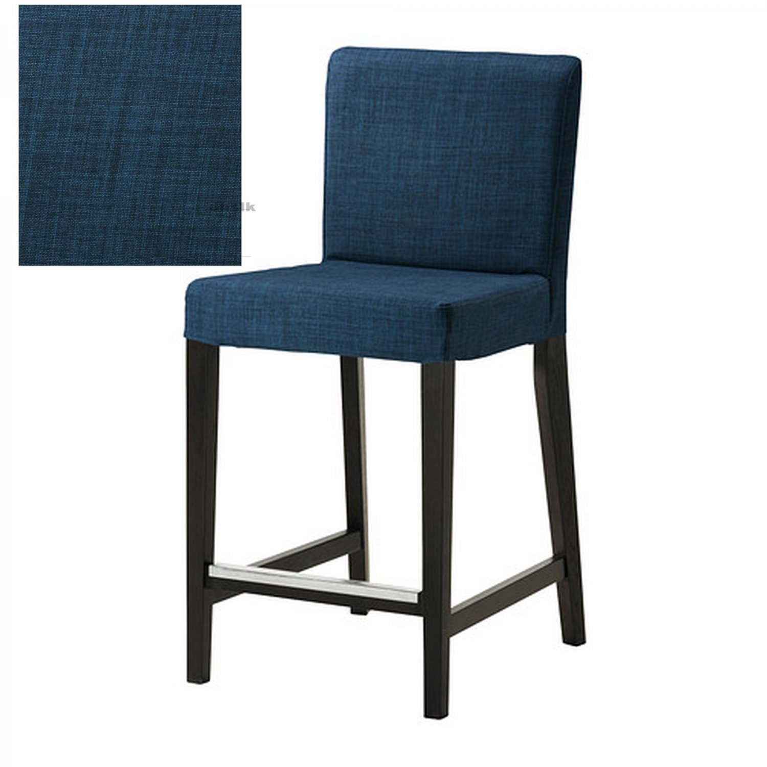 bar stool chair rung protectors tall dining table and chairs ikea henriksdal skiftebo slipcover barstool