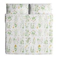 IKEA STRANDKRYPA KING Duvet COVER Pillowcases Set ...