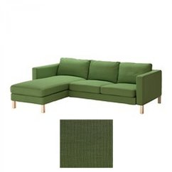 Karlstad Sofa Cover Uk Mini Bedroom Ikea 2 Seat Loveseat And Chaise Slipcover