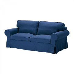 Ikea Sofa Coverings Blue Reclining And Loveseat Ektorp 2 Seat Cover Slipcover Idemo
