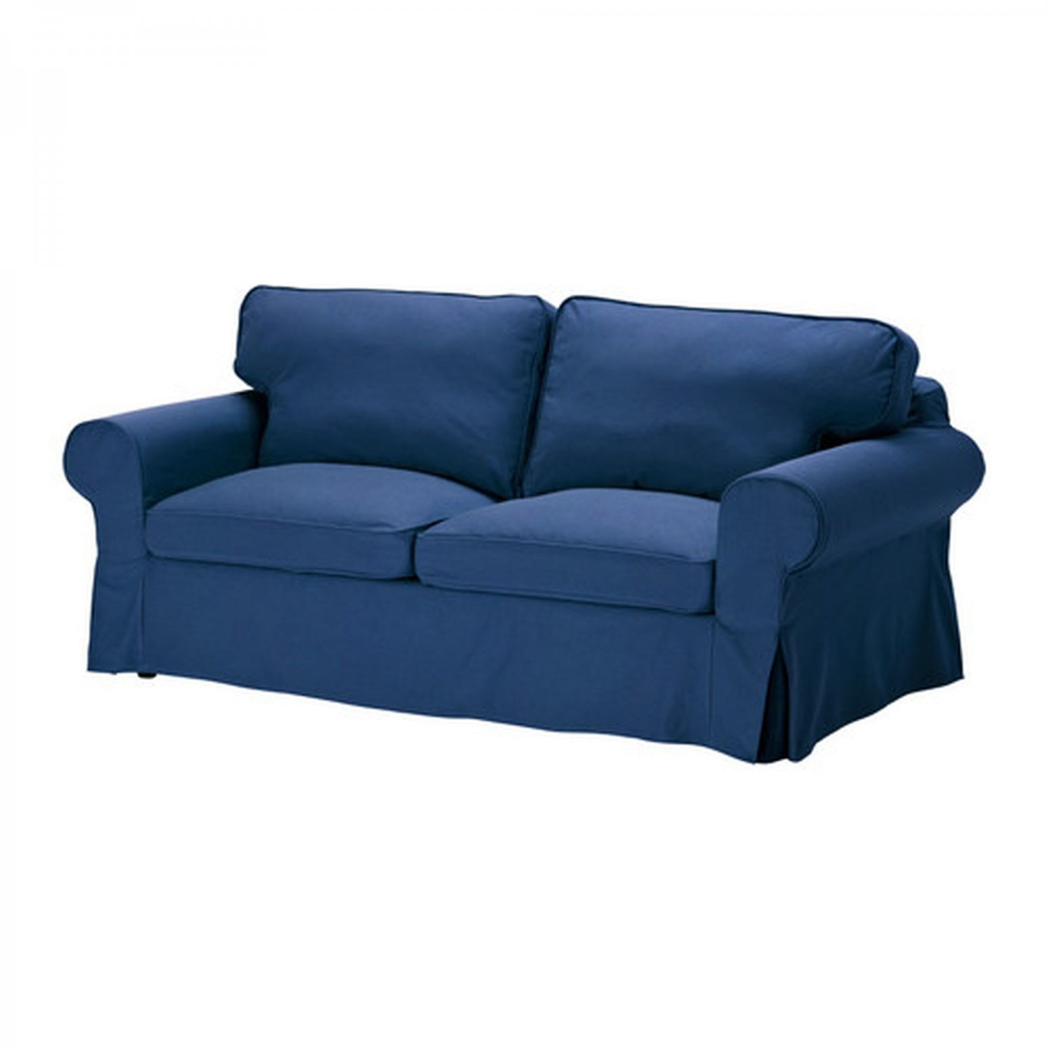 chair slipcovers australia inflatable bed bath and beyond ikea ektorp 2 seat sofa cover loveseat slipcover idemo blue