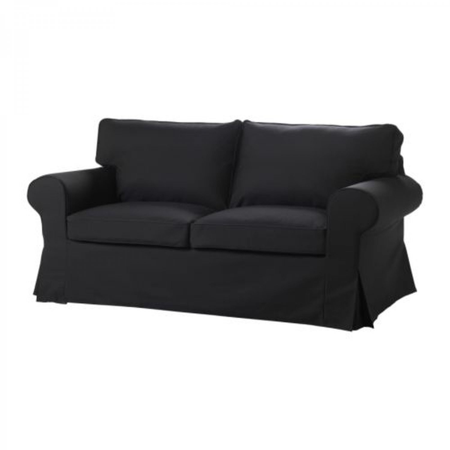 ikea karlanda sofa covers uk leather san jose ektorp bed slipcover sofabed cover idemo black