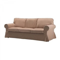 Ikea Karlanda Sofa Covers Uk Pictures Of Living Rooms With Green Sofas Ektorp 3 Seat Slipcover Cover Idemo Beige W Piping