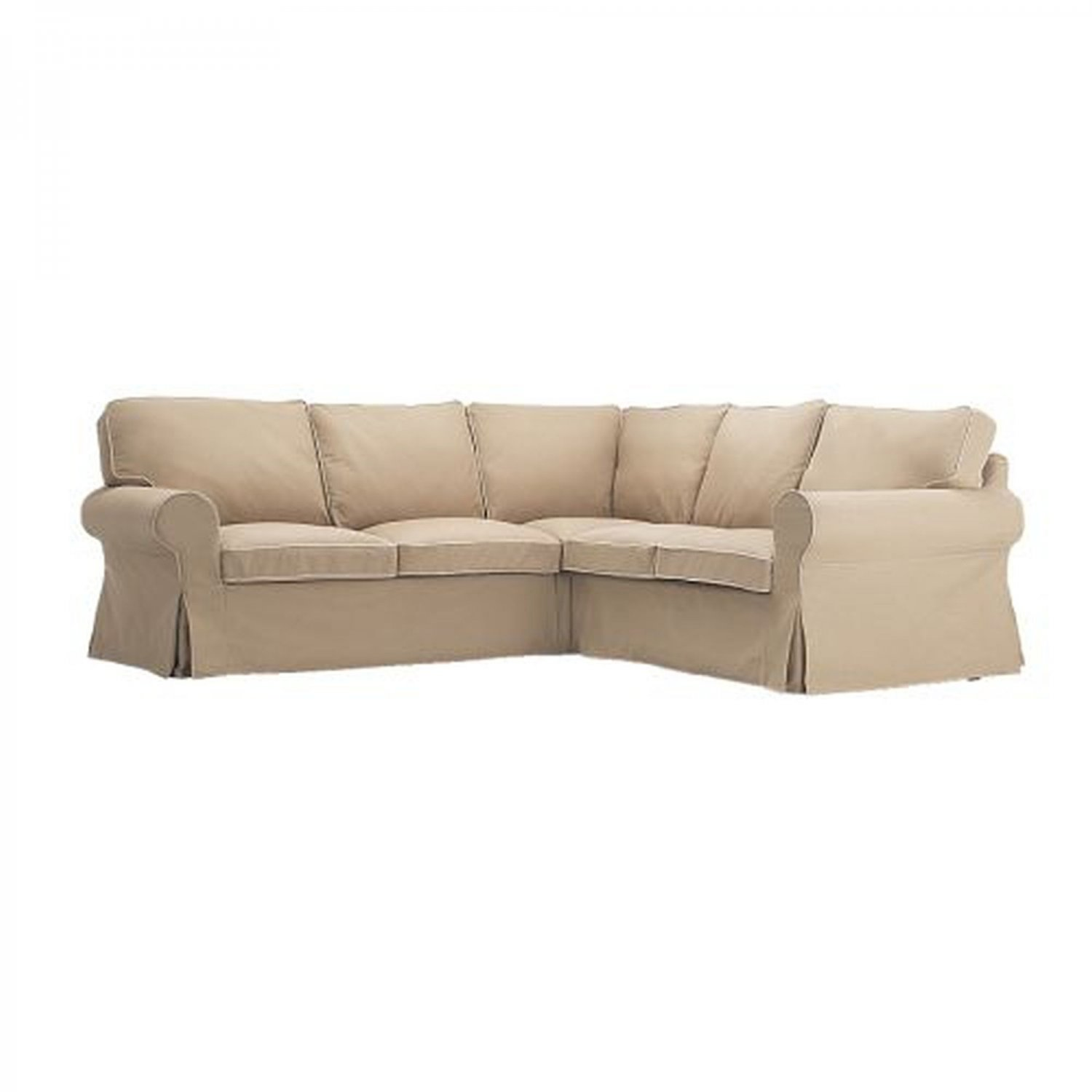 ikea karlanda sofa covers uk billige sofas berlin ektorp 2 432 corner cover slipcover idemo beige