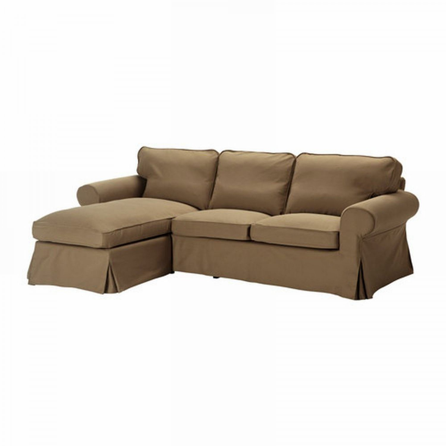 ikea karlanda sofa covers uk craftsman plans ektorp loveseat with chaise cover slipcover