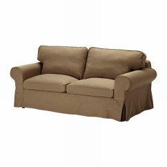 One Seat Sofa Bed Ikea Table With Storage Canada Ektorp Slipcover Cover Idemo Light Brown ...