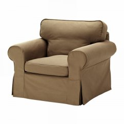 Ikea Tullsta Chair Covers Uk Inexpensive For Weddings Ektorp Armchair Slipcover Cover Idemo Light Brown