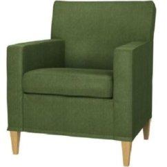 Chair Slipcovers Ikea Walnut Eames Karlstad Slipcover Armchair Cover Sivik Dark Green
