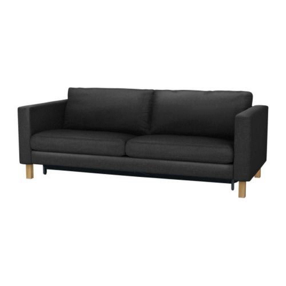 karlstad sofa bed cover grey murphy uk ikea slipcover sofabed ullevi dark ...