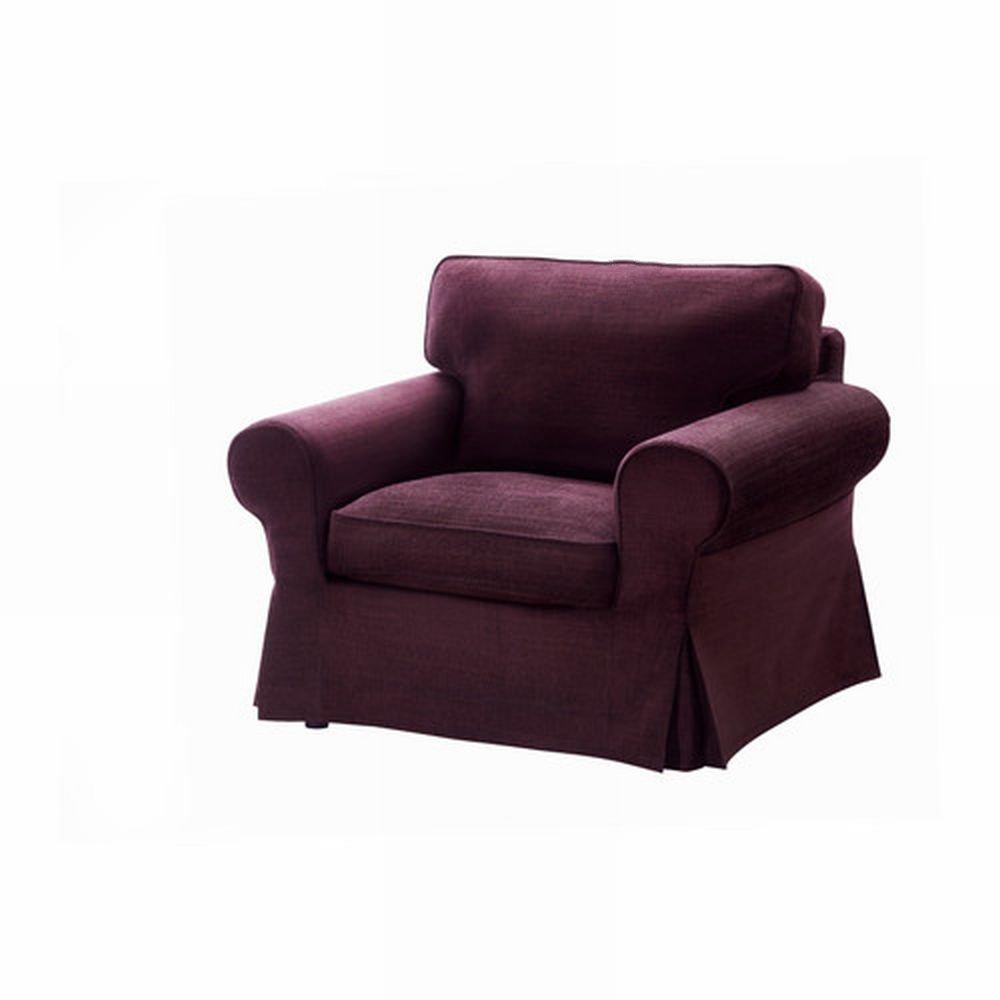 chair slip covers in store sofa amazon ikea ektorp armchair cover slipcover tullinge lilac purple bezug housse