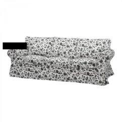 Sofa Slipcovers Uk Sleepers For Cheap Ikea Ektorp 3 Seat Slipcover Cover Hovby Black White ...