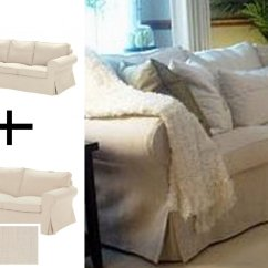 Ikea Rp 3 Seater Sofa Covers Plush Sets Slipcovers Discontinued For ...