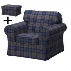 Gray Chair And Ottoman Slipcovers That Converts To A Bed Ikea Ektorp Armchair Footstool Cover 5581859253fdc 54622n Jpg