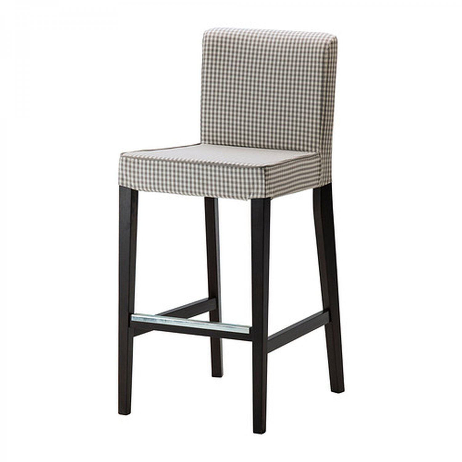 chair and stool covers shermag glider parts ikea henriksdal sagmyra gray bar slipcover barstool