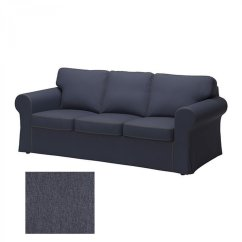 Ikea Karlanda Sofa Covers Uk Jcpenney Chair Ektorp 3 Seat Slipcover Cover Jonsboda Blue Last One