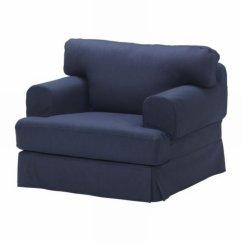 Chair Covers In Ikea Swimming Pool Chairs Hovas Armchair Slipcover Cover Kallvik Dark Blue Källvik HovÅs