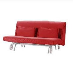Ikea Red Sofa Covers Leather Sets On Sale Ps Bed Sofabed Slipcover Cover Roma Modern