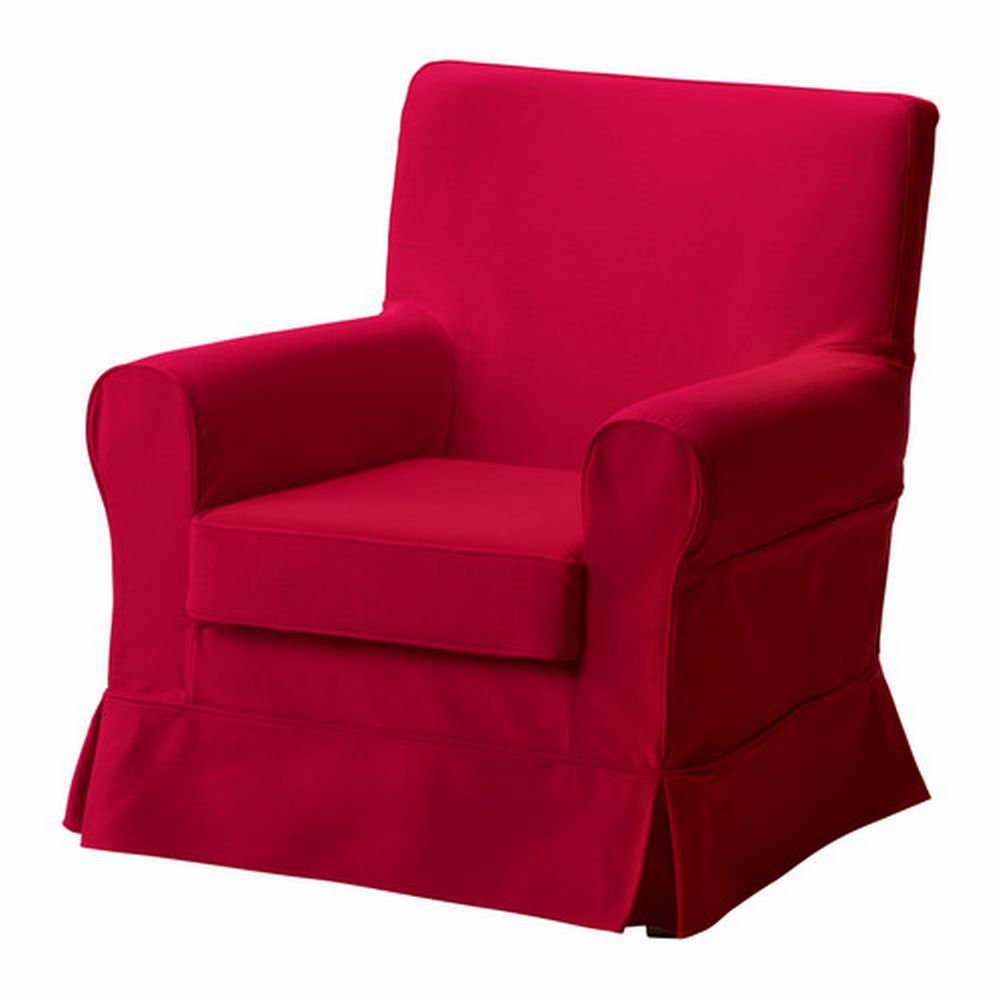 sex chair ikea recover cushions diy ektorp jennylund armchair slipcover idemo red cover
