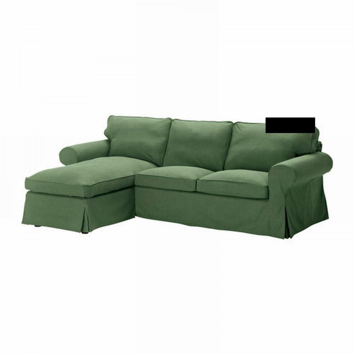 ikea karlanda sofa covers uk wooden designs pictures latest ektorp 2 seat loveseat w chaise cover 3