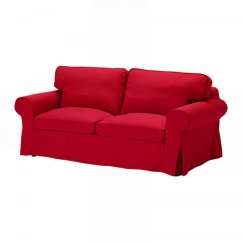Ikea Karlanda Sofa Covers Uk Mattress Foldable For Bed Ektorp Slipcover Cover Idemo Red Sofabed Cvr