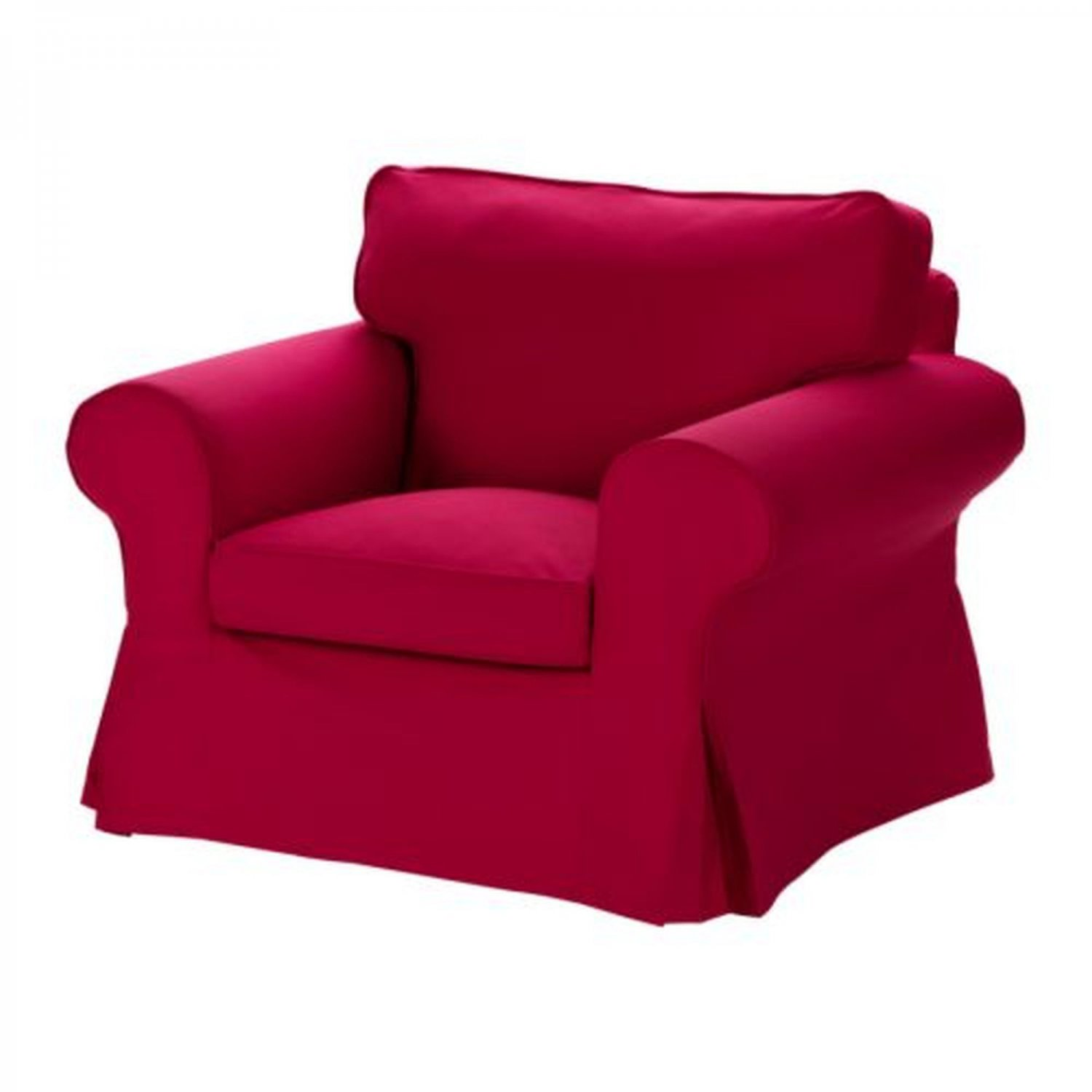 ikea jennylund chair covers uk big leather ektorp armchair slipcover cover idemo red new
