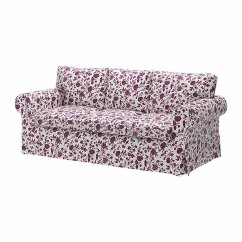 White Sofa Slipcover Cotton Flip Open Disney Princess Ikea Ektorp 3 Seat Cover Hovby Lilac Purple ...
