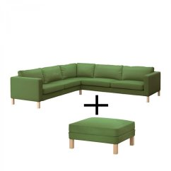 Karlstad Sofa Cover Uk Set Designs For Small Living Room With Price Ikea Corner And Footstool Slipcover