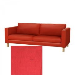 Backamo 3 Seater Sofa Slipcover Best Hide A Bed Ikea Karlstad Seat Cover Korndal Red Xmas