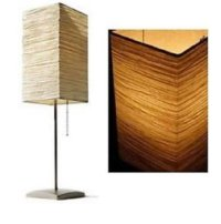IKEA Magnarp Table LAMP Light PAPER Set of 2 MODERN ...