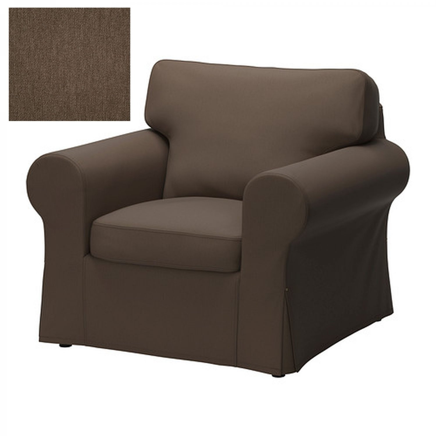 ikea jennylund chair covers uk cover rentals in maryland ektorp armchair slipcover jonsboda brown