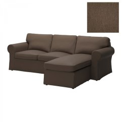 Sofa W Chaise Princess Aj Worth Ikea Ektorp Loveseat With Slipcover 2 Seat