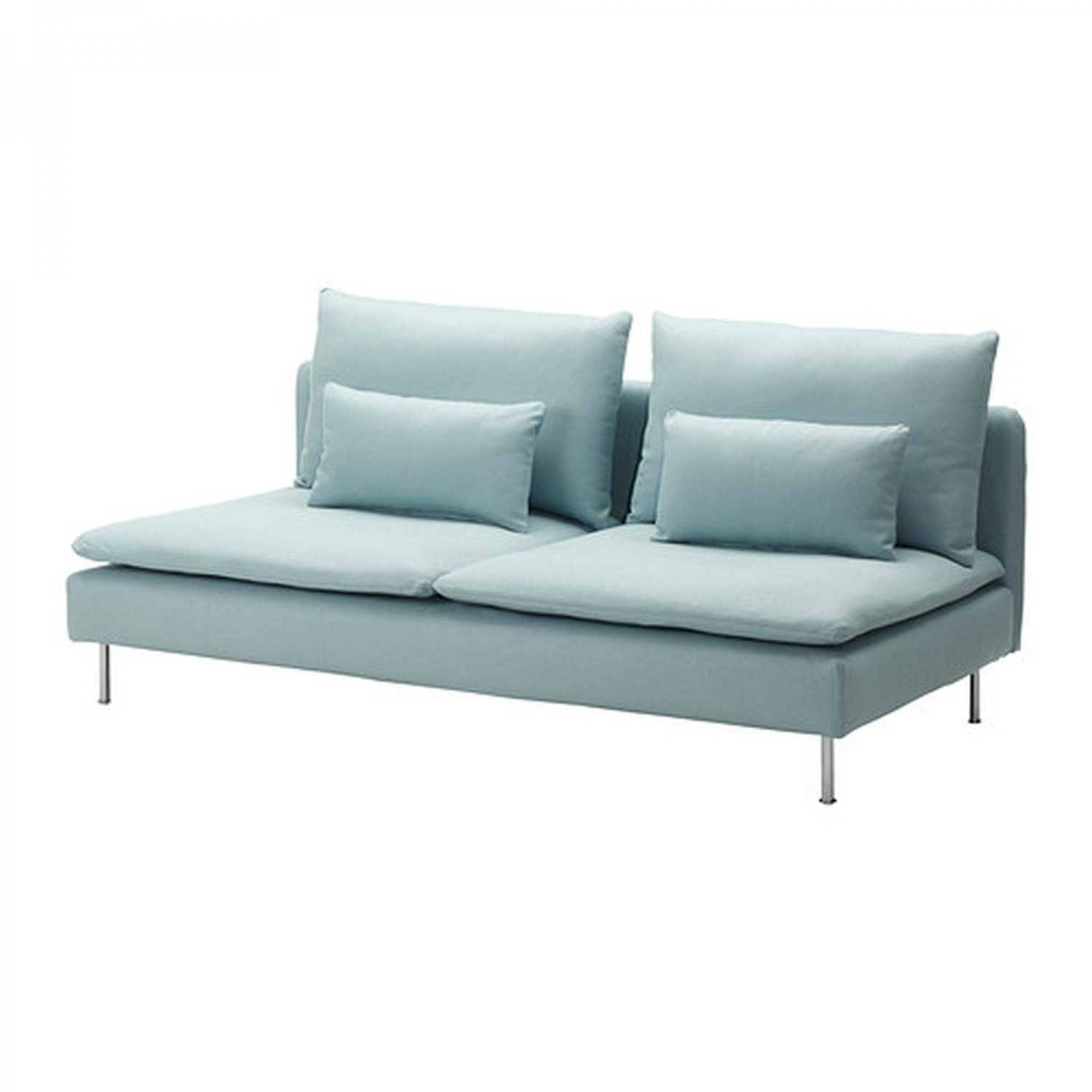 backamo 3 seater sofa slipcover tufted with chaise ikea soderhamn seat cover isefall light
