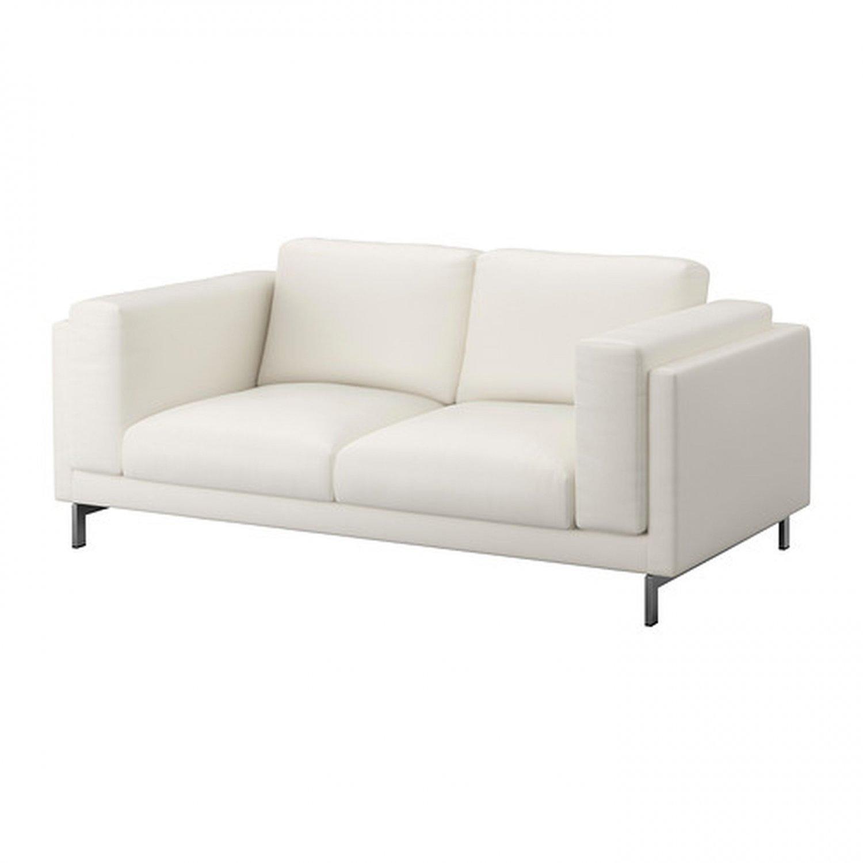 ikea white slipcover sofa jackson furniture grant queen sleeper nockeby 2 seat loveseat cover risane