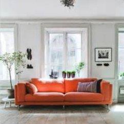 Ikea Lycksele Sofa Bed Orange Karlstad Leather Assembly Knopparp 2 Seat Thesofa