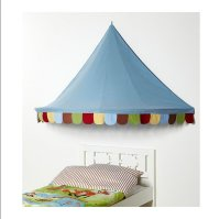 IKEA Child's MYSIG BED TENT Canopy Toy Blue Xmas Girl Boy ...