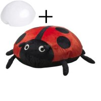 IKEA Sagosten LADYBUG Ladybird RED Cushion COVER and AIR ...