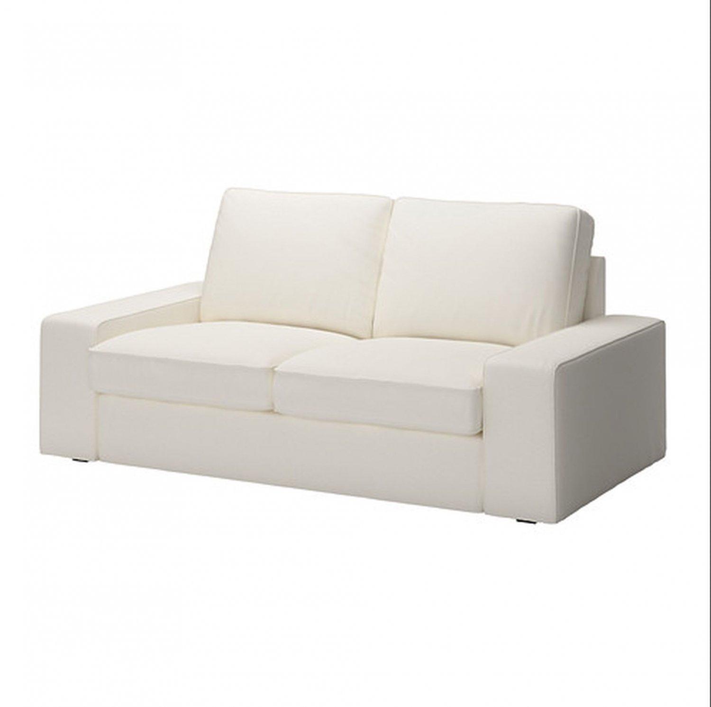 sofa slipcovers uk navy blue corner ikea kivik 2 seat slipcover loveseat cover dansbo white