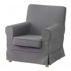 Ikea Jennylund Chair Covers Uk Baby Bjorn High Ektorp Armchair Slipcover Cover Nordvalla Gray Grey