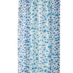 Sofa Slipcover Ikea Miramar Double Reclining Leather Skorren Fabric Shower Curtain Blue White Turquoise ...