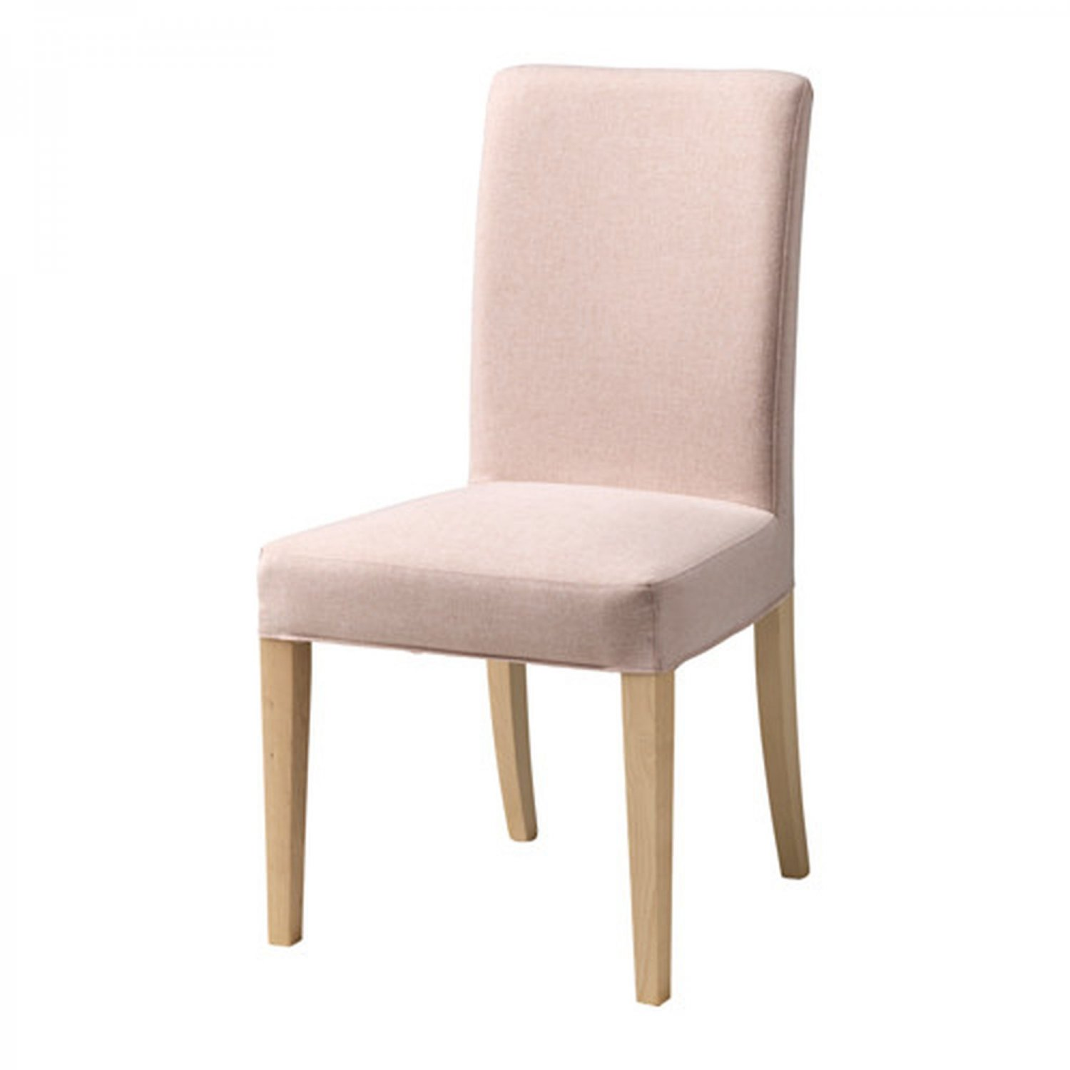 pale pink chair steel rubwood ikea henriksdal slipcover cover 21 quot 54cm gunnared