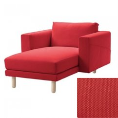One Arm Sofa Slipcover Sectional Sofas Indianapolis Ikea Norsborg Chaise W Arms Cover Finnsta Red 1
