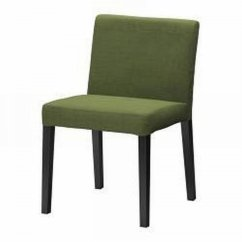 Nils Chair Cover Covers Rental Calgary Ikea Dining Slipcover Sivik Dark Green