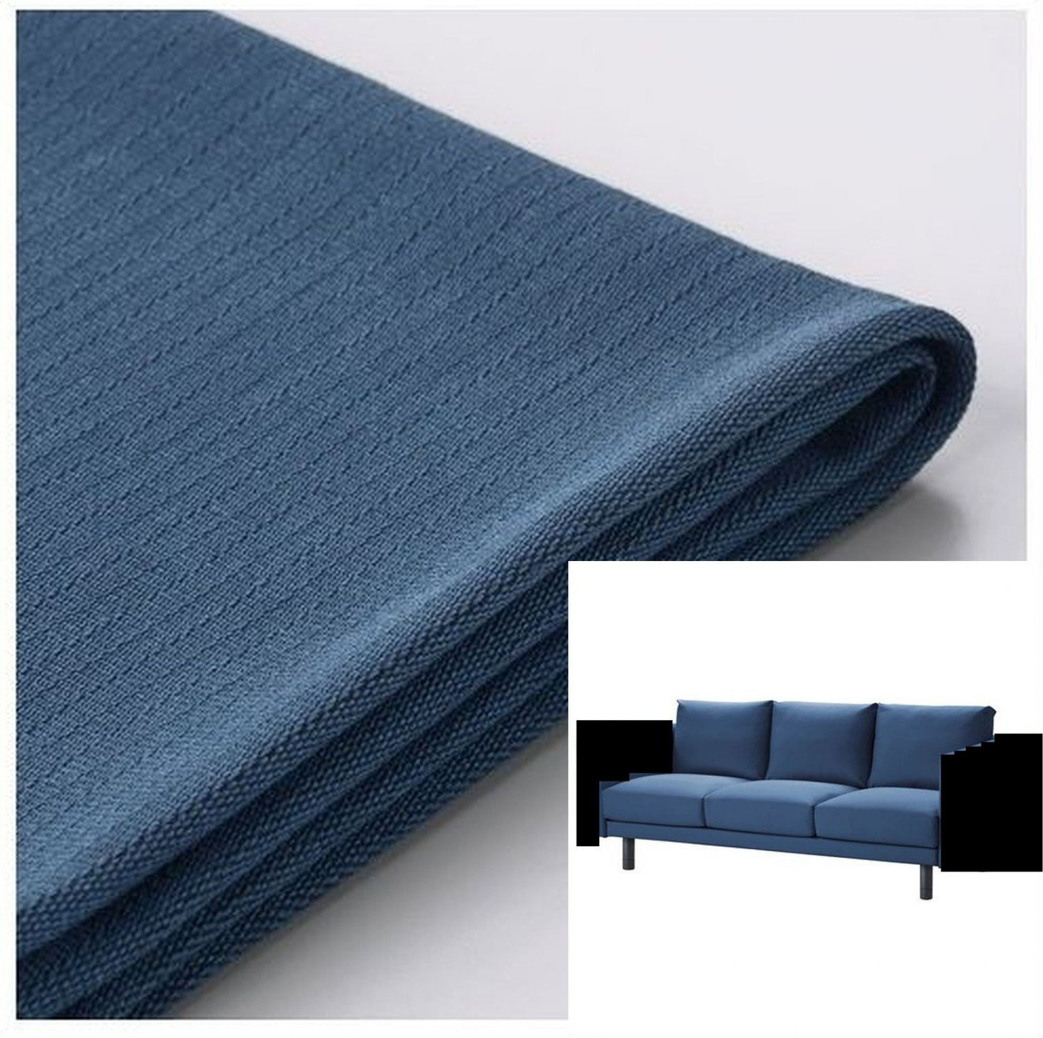 sofa arm wrap uk mid century modern style bed ikea norsborg 3 seat section slipcover cover edum