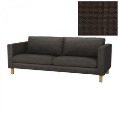 Sofa Covers Karlstad Light Color Wood Table Ikea 3 Seat Slipcover Cover Korndal Brown