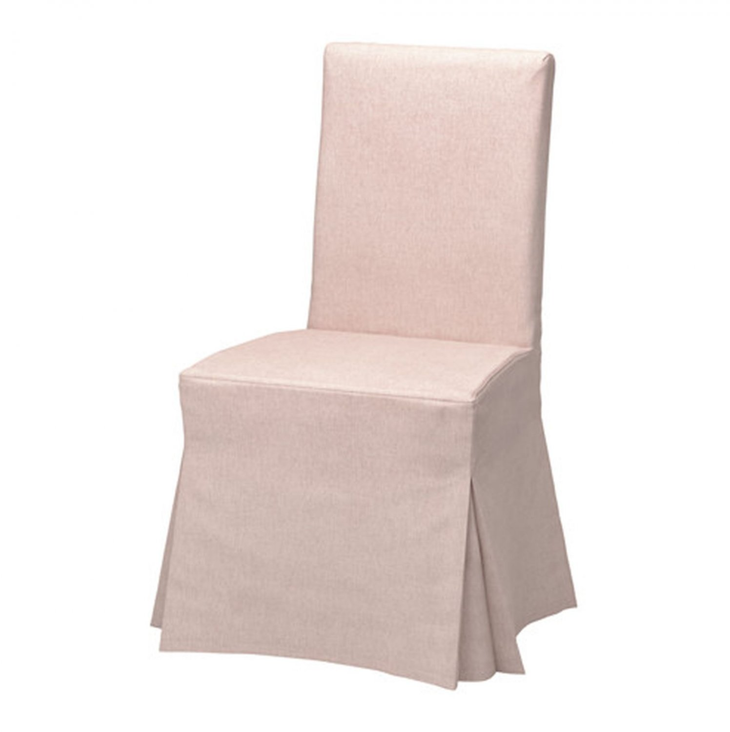 cotton dining chair covers uk stacking chairs ikea henriksdal slipcover cover skirted long