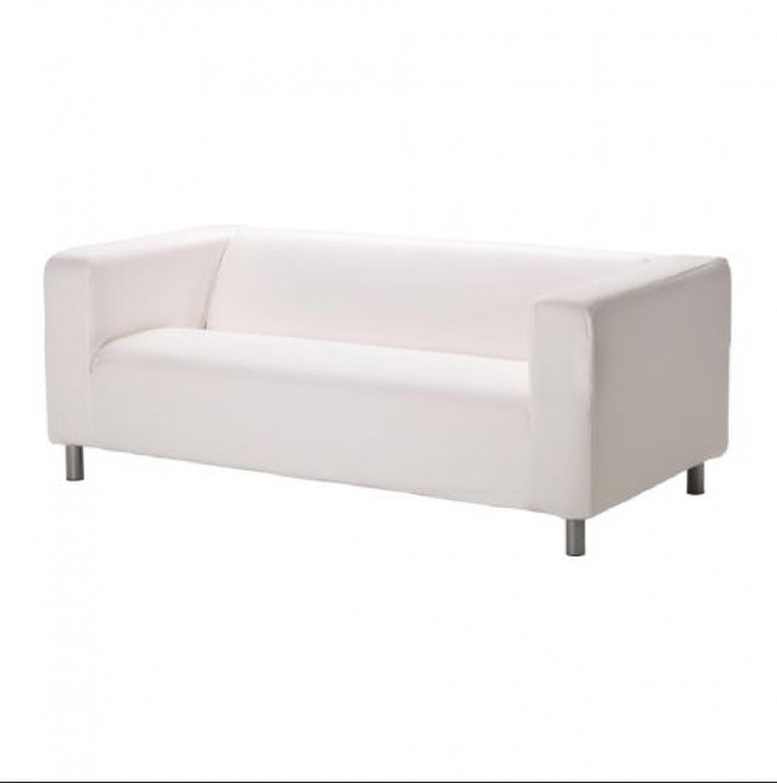 ikea white slipcover sofa remove ink leather klippan cover granan granån