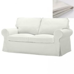 White Sofa Slipcover Cotton Rv Jackknife Covers Ikea Ektorp 2 Seat Loveseat Cover Blekinge